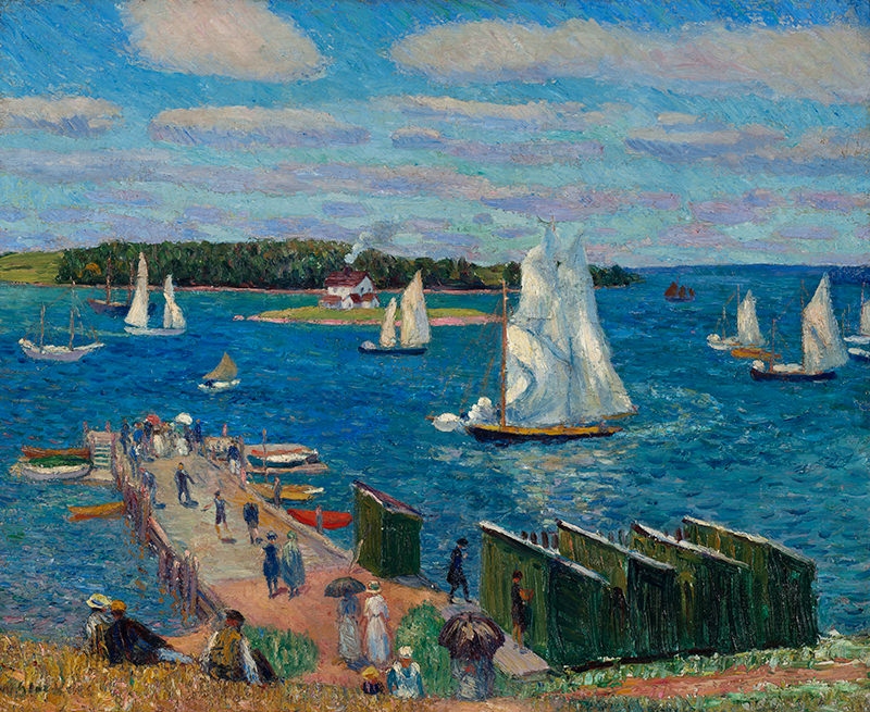 Mahone Bay by William Glackens