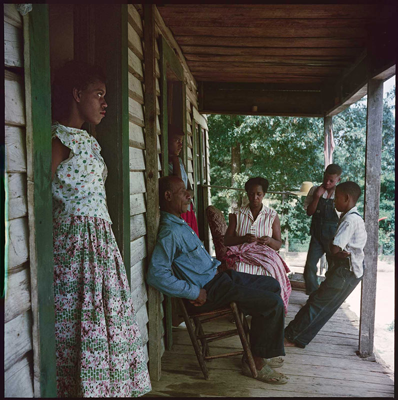 "Gordon Parks photograph: ""Willie Causey and Family, Shady Grove, Alabama, 1956"""