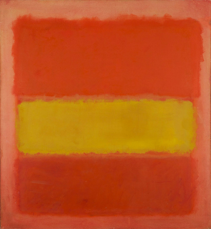 Rothko Yellow Band Sheldon Museum Of Art